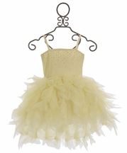 Ooh La La Couture Ivory Devin High Low Dress
