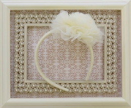 Ooh La La Couture Ivory Headband for Girls