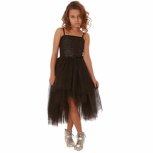 Ooh la la Couture Kylee Dress in Black