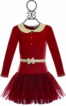 Ooh la la Couture Mary Jane Dress in Red