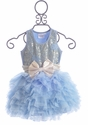 Ooh La La Couture Party Dress in Blue