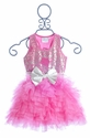 Ooh La La Couture Pink Embroidered Party Dress (3T, 5, 6X/7 & 8)
