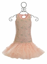 Ooh La La Couture Poufier Dress in Blush
