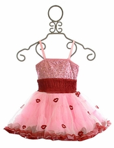 Ooh La La Couture Red Lips Wow Pouf Dress Pink Lady