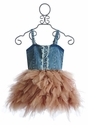 Ooh La La Couture Rose Gold Denim Dress
