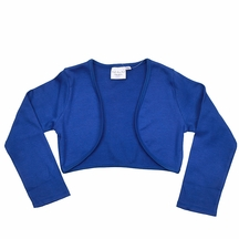 Ooh la la Couture Shrug for Girls in Blue