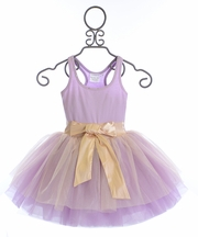 Ooh La La Couture Special Occasion Dress for Girls in Lilac (12Mos,10,12)
