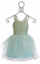 Ooh La La Couture Special Occasion Dress in Ice Blue (3T,4T,6)