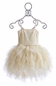 Ooh La La Couture Swarovski Devin Dress in Ivory