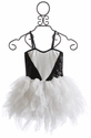 Ooh La La Couture White and Black Sweetheart Dress (4, 5, & 6)