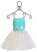 Ooh La La Couture Wow Dress in Ice Blue