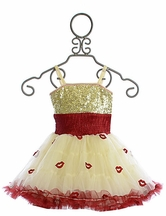 Ooh La La Couture Wow Pouf Dress Champagne Lips