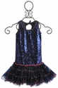 Ooh La La Couture Navy Sequin Dress