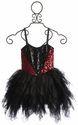 Ooh La La Couture Girls Black Sweetheart Dress