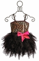 Ooh La La Leopard Wow Emma Girls Tulle Dress