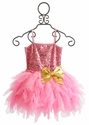 Ooh La La Pink and Gold Girls Wow Emma Dress