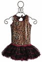 Ooh La La Sequin Leopard Girls Pettiskirt Dress