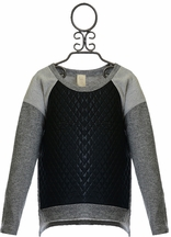 Over the Top Hi Low Sweatshirt for Tweens (7,10,16)