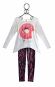 Over the Top Long Sleeve Top Legging Set Donut Love (Size 8)