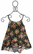 Over The Top Ruffle Tank Top for Girls (7,8,10,14)