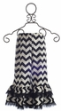 Owls and Bats Chevron Pant for Girls