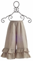 Owls and Bats Girls Linen Pant