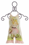 Paper Wings Baby Romper for Girls Spring Beauty