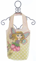 Paper Wings Canvas Bag for Girls Flower Fairy