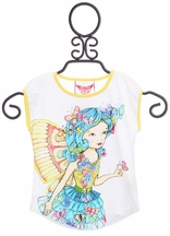 Paper Wings Fairy Top for Girls (3,4,5,7)