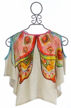 Paper Wings Girls Butterfly Top