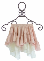 Paper Wings Girls Frilly Skirt in Pink