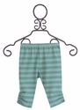 Paper Wings Infant Girls Leggings in Blue Stripes
