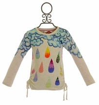 Paper Wings Raindrops Tee (2,4,5,6)