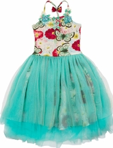 Paper Wings Tutu Dress Butterfly Floral