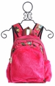 Peace of Cake Angel Cake Girls Backpack with Faux Fur