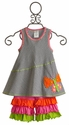 Peaches 'N Cream Girls Butterfly Applique Capri Set