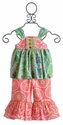 Peaches 'N Cream Little Girls Boutique Summer Outfit