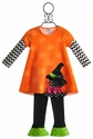 Peaches 'N Cream Little Girls Halloween Dress and Legging