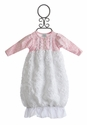 Peaches 'N Cream Pink Baby Gown