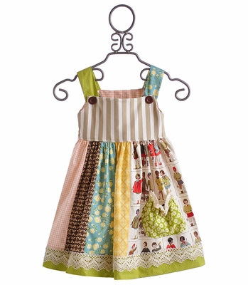 Persnickety Adele Girls Dress Meadow Dance