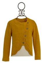 Persnickety Amelia Sweater in Mustard Yellow