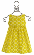 Persnickety Amiah Dress for Little Girls Daffodils and Dandelions