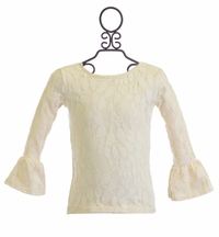 Persnickety Baby Ivory Lace Top Haven