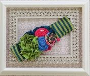 Persnickety Baby Soft Headband in Clover (Size LG 6-12)