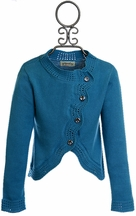 Persnickety Boutique Sweater for Girls in Blue