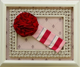 Persnickety Candy Cane Ava Headband for Girls