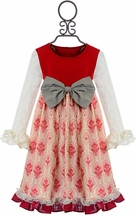Persnickety Candy Cane Brandi Dress in Red (6-12Mos,12-18Mos,18-24Mos,2,3)