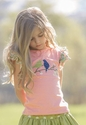 Persnickety Clothing Bird Double Ruffle Tee