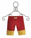 Persnickety Clothing Button Tab Shorts in Raspberry