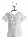 Persnickety Clothing Cream Lola Top